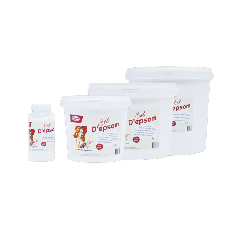 Sel d'epsom, minéral riche en magnésium - Vozydeo.fr