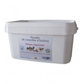 Poudre de coquilles d'huîtres - Alimentation et complément -vozydeo